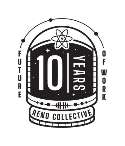 Reno Collective 10 Year badge